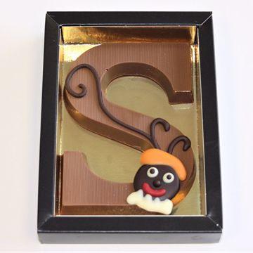 Afbeeldingen van Chocoladeletter GK1 melk