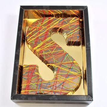Afbeeldingen van Chocoladeletter GK7 Picasso S