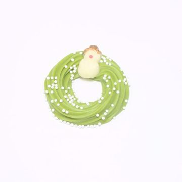 Afbeeldingen van Gladde kransjes groen