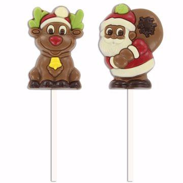 Afbeeldingen van Kerst lolly's
