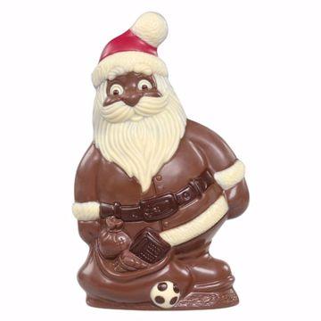 Afbeeldingen van Kerstman met speelgoed groot