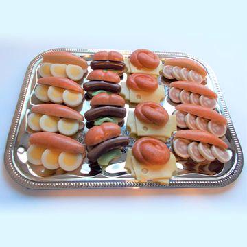 Afbeeldingen van Belegde broodjes