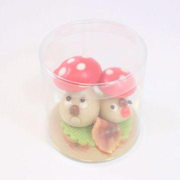 Afbeeldingen van Twee paddenstoeltjes