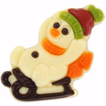 Afbeeldingen van Sneeuwpop op slee