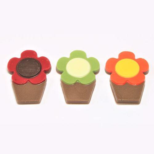 Afbeelding van Bloempotjes chocolaatjes