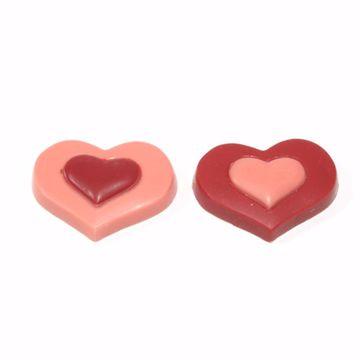 Afbeeldingen van Duo hartjes
