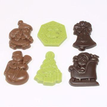 Afbeeldingen van Kerst assorti chocolaatjes