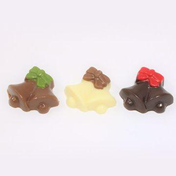 Afbeeldingen van Kerstklokjes chocolaatjes