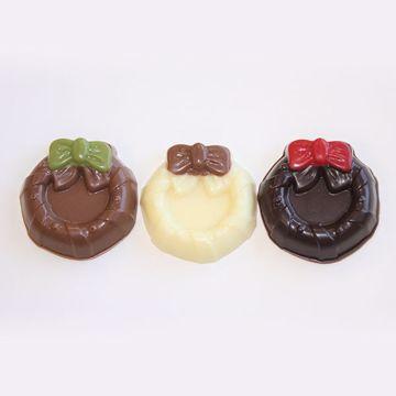Afbeeldingen van Kerstkransjes chocolaatjes