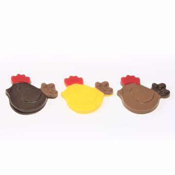 Afbeeldingen van Kip chocolaatjes