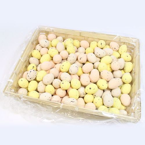 Afbeelding van Mand met gedrageerde eitjes