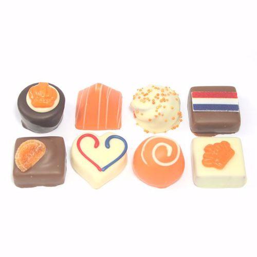 Afbeelding van Oranje bonbons