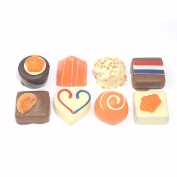 Afbeeldingen van Oranje bonbons