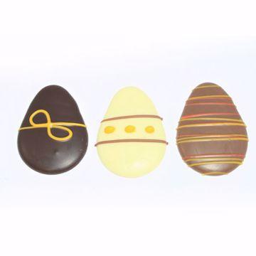 Afbeeldingen van Paasei chocolaatjes