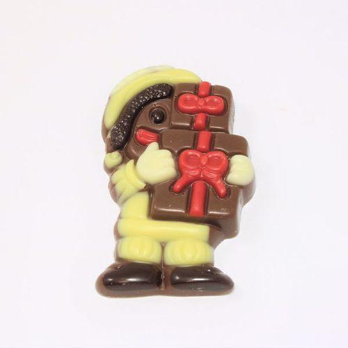 Afbeelding van Piet met pakjes geel