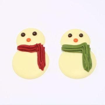 Afbeeldingen van Sneeuwpop chocolaatjes