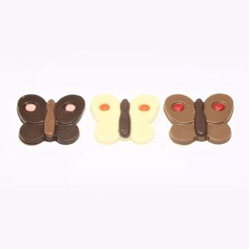 Afbeeldingen van Vlinder chocolaatjes