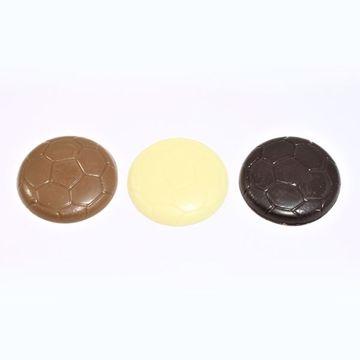 Afbeeldingen van Voetbalchocolaatjes