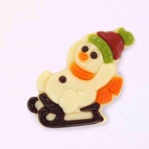 Afbeelding van Sneeuwpop op slee