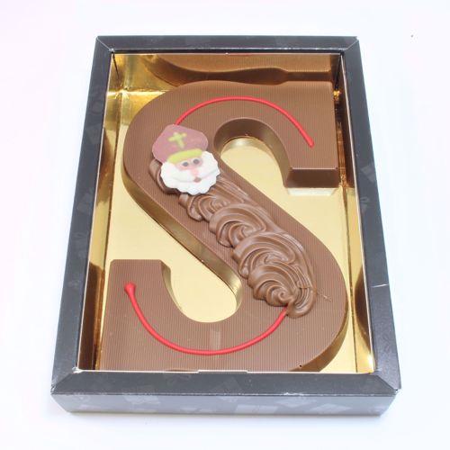 Afbeelding van Chocoladeletter GK7 melk