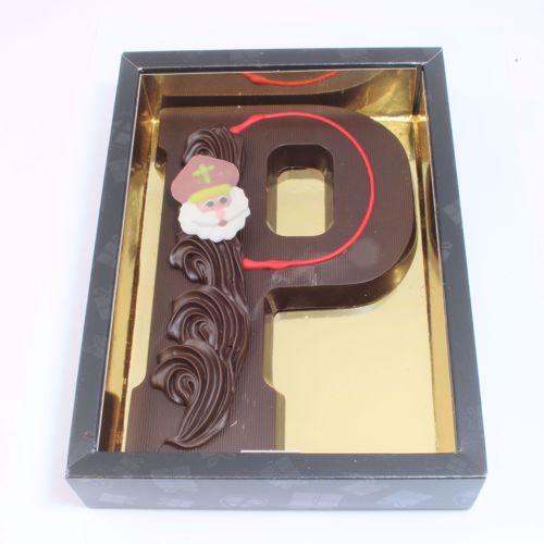 Afbeelding van Chocoladeletter GK7 puur